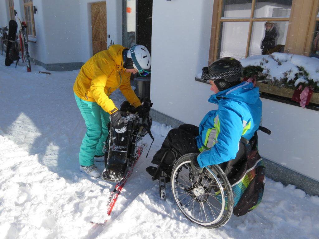 Vom Monoski und den Rollstuhl - Tiraler Haus
