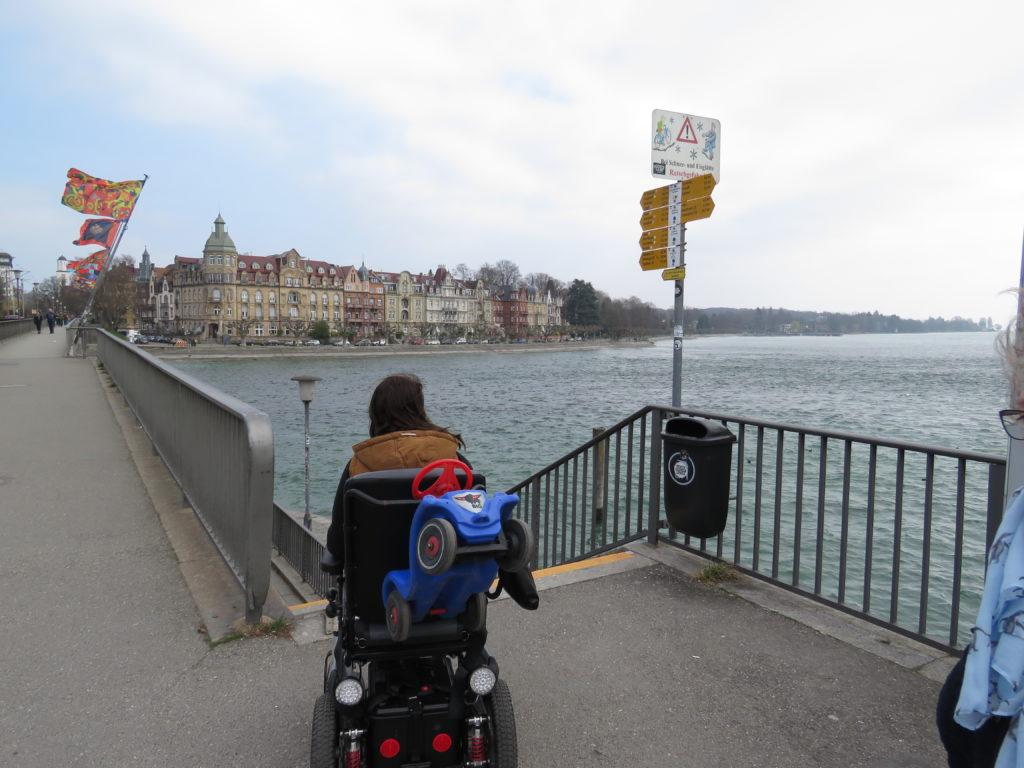 Konstanz mit dem Rollstuhl